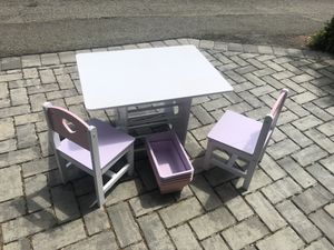 Child's art / play table and chairs for Sale in Washington, DC