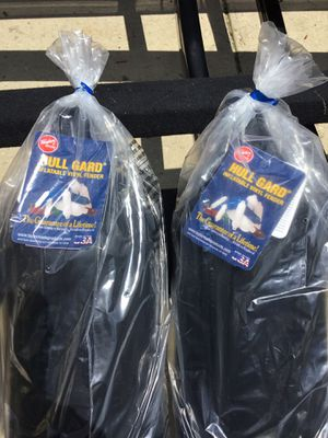 Set of two, Taylor-Made Hull Guard Inflatable Vinyl Boat Fenders for Sale in Johnsburg, IL