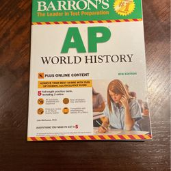 Barron's Ap World History Study Guide for Sale in Garden Grove,  CA