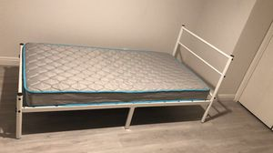 Twin size bed frame and mattress for Sale in Monterey Park, CA