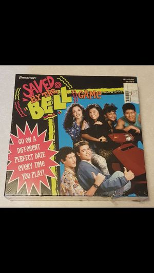 Saved By The Bell Board Game by Pressman - New! ($10) for Sale in Canal Winchester, OH