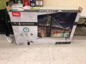 Tcl roku tv 55 in for Sale in Columbus, OH