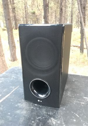 LG subwoofer for Sale in Bend, OR
