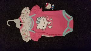New hello kitty baby girl 2 piece shirts 0/3 mos 3/6mos 6/9 mos for Sale in CRYSTAL CITY, CA