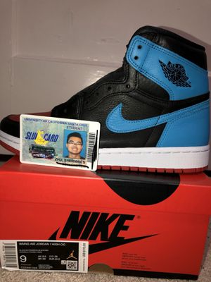 WMNS Jordan 1 NC to CHI size W9/M7.5 for Sale in San Francisco, CA