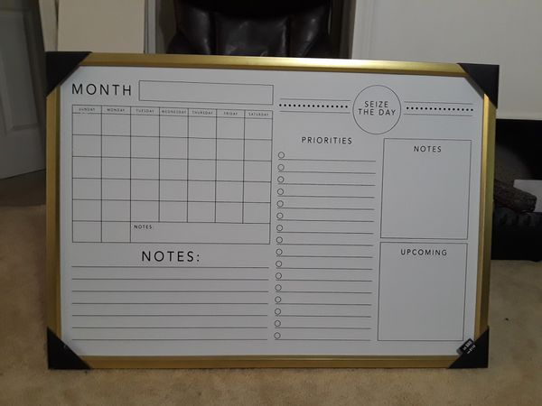 GOLD Spring prinempts memo board