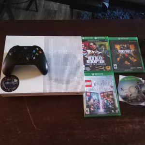 Xbox One S with Games for Sale in Phoenix, AZ