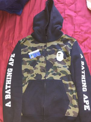 Bape hoodie full zip size large for Sale in Aurora, CO