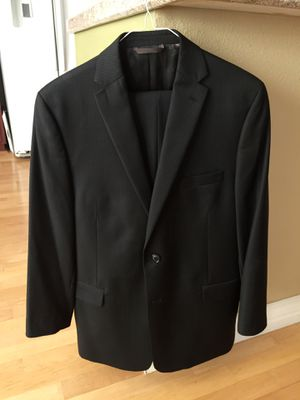 My 13 yr old wore this Beautiful Michael Kors suit coat and matching pant. Black with pinstripes. Purchased at Nordstrom $100 for Sale in Mission Viejo, CA