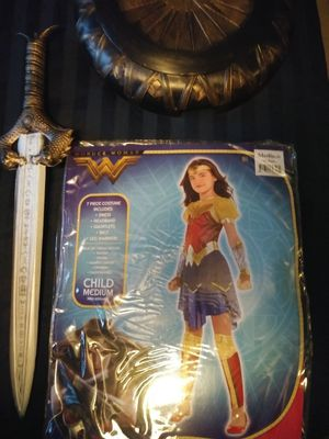 Wonder woman costume for Sale in Bristol, PA