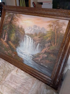 Beautiful Canvas Oil Painting for Sale in Muskegon, MI