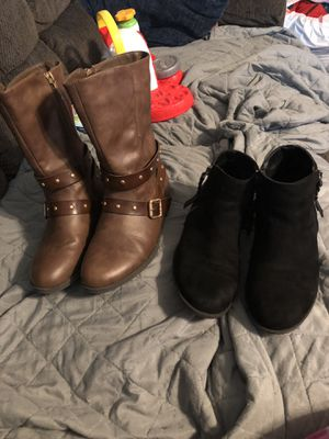 Girls size 3 boots for Sale in Portland, OR