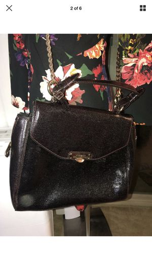 Versace collection burgundy large bags. Authentic for Sale in Edgewood, MD