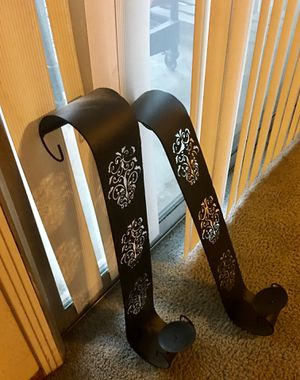 Black candle holders set for Sale in Modesto, CA