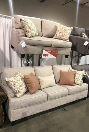 $39 Down  🍃🍂 BEST DEAL Almanza Wheat Living Room Set 299 for Sale in Jessup, MD