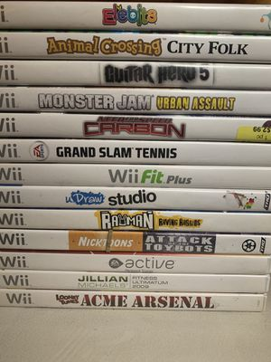 Nintendo Wii Games for Sale in Hampton, IA