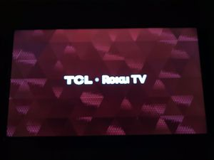 TCL 55 inch 4k UHD Smart TV with Roku built in for Sale in St. Louis, MO