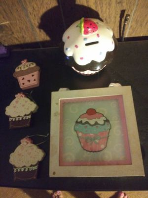 Cupcake room decor for Sale in Columbus, OH