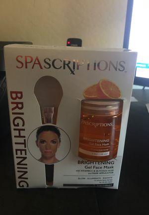 Spa scriptions gel face mask for Sale in Phoenix, AZ