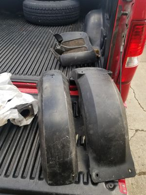 1991Bmw k100 lt motorcycle front and rear fenders need to be repainted for Sale in Crete, IL