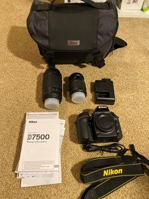 Nikon D7500 Camera for Sale in Hayward, CA
