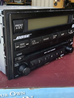 Bose 6 CD Radio Changer double Din for Sale in Minneola, FL