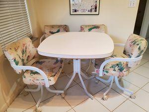 Kitchen table 4 chairs for Sale in Boynton Beach, FL