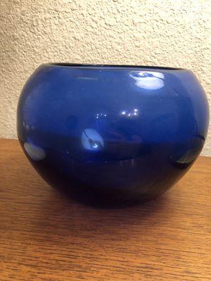 12 blue round vases for Sale in Pflugerville, TX