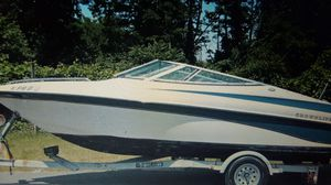 1997 Crownline Bowrider with Trailer for Sale in Fort Walton Beach, FL