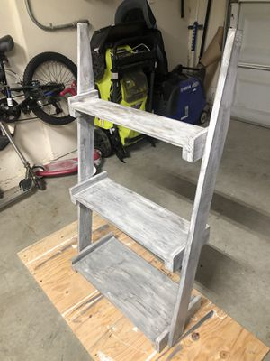 Ladder wall shelf for Sale in Visalia, CA