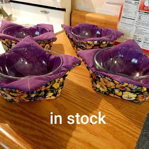 Microwaveable bowl cozies for Sale in Fresno, CA