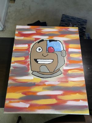 Cyborg painting for Sale in Romulus, MI