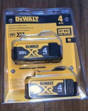 Dewalt XR 4.0 Battery Pack . Price firm!! for Sale in Fresno, CA
