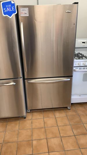 NO CREDIT!! Whirlpool LOWEST PRICES! Refrigerator Fridge 18 cu ft #1562 for Sale in Savage, MD