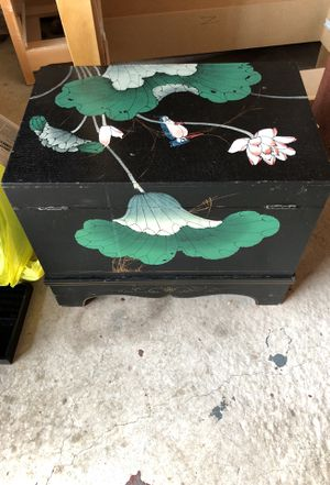AntiqueL. Lacquer chest for Sale in Langhorne, PA