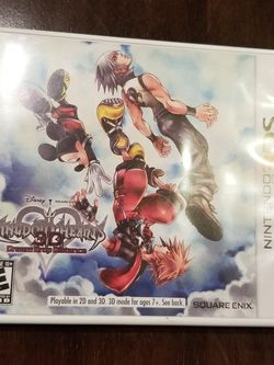 Kingdom Hearts 3D: Dream Drop Distance (Nintendo 3DS, 2012), TESTED for Sale in Las Vegas,  NV