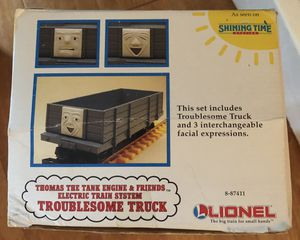 Lionel Thomas the train large scale G troublesome truck with 3 interchangeable faces for Sale for sale  Hightstown, NJ