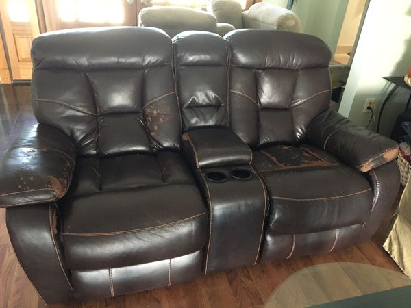 Free double gaming recliner armchair loveseat