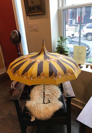 Mid-Century Floral Print Umbrella for Sale in Philadelphia, PA