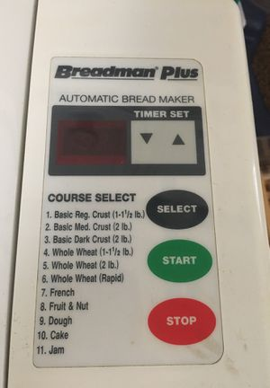 Bradman plus automatic bread maker for Sale in Tomball, TX