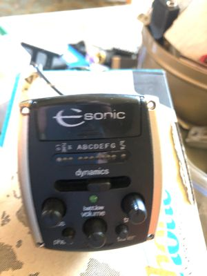E-Sonic by Shadow Acoustic pickup for Sale in Federal Way, WA