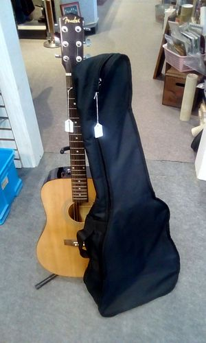 FENDER FA-100 Dreadnought Acoustic Guitar With Gig Bag / Natural for Sale in Seminole, FL