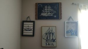 Lot of nautical wall decor for Sale in Myrtle Beach, SC