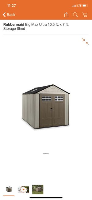 Shed rubbermaid big max for Sale in Phoenix, AZ