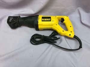 DeWalt DW304P Corded Reciprocating Saw! Works Great! Easy to pick up! for Sale in Los Angeles, CA
