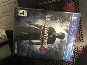 Unopened uncharted 4 with the dlc for Sale in Washington, DC