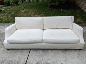 Ethan Allen sloped arm couch for Sale in Pittsburgh, PA