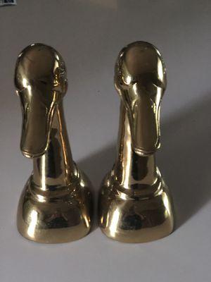 Vintage Brass Bookends for Sale in Broken Arrow, OK