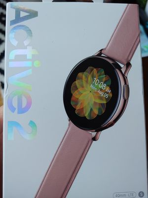 New in box LTE Samsung galaxy gear ACTIVE 2 smart watch for Sale in San Jose, CA