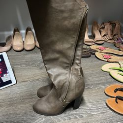 Brown Leather Boots for Sale in Raleigh,  NC
